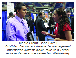 Cristhian Bedon - Career Fair